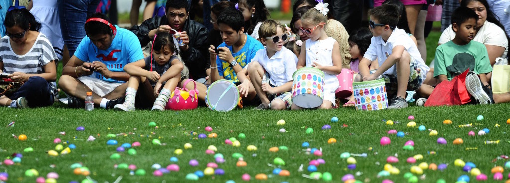 Easter Egg Hunt of the Future