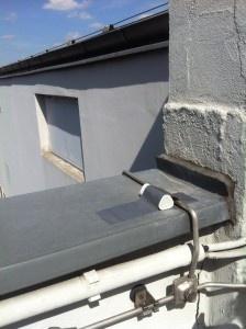 Beacon on ledge