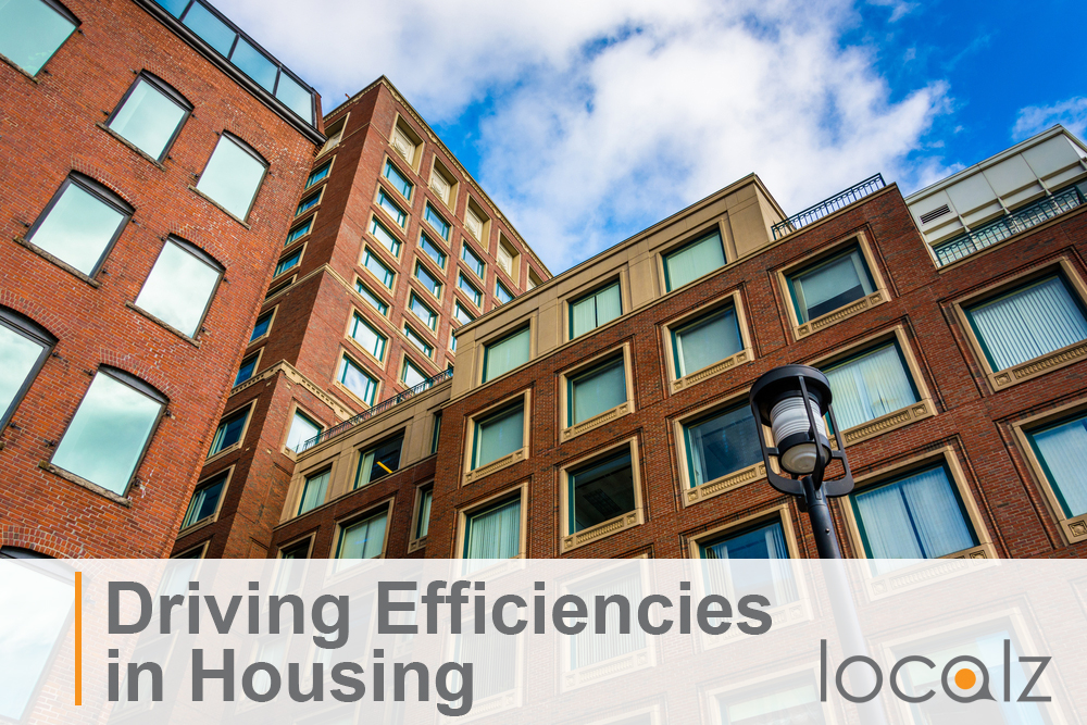 Driving efficiencies in housing blog header