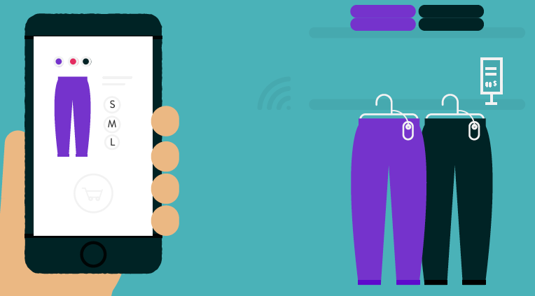Use cases and benefits of mobile location beacons for retail customers