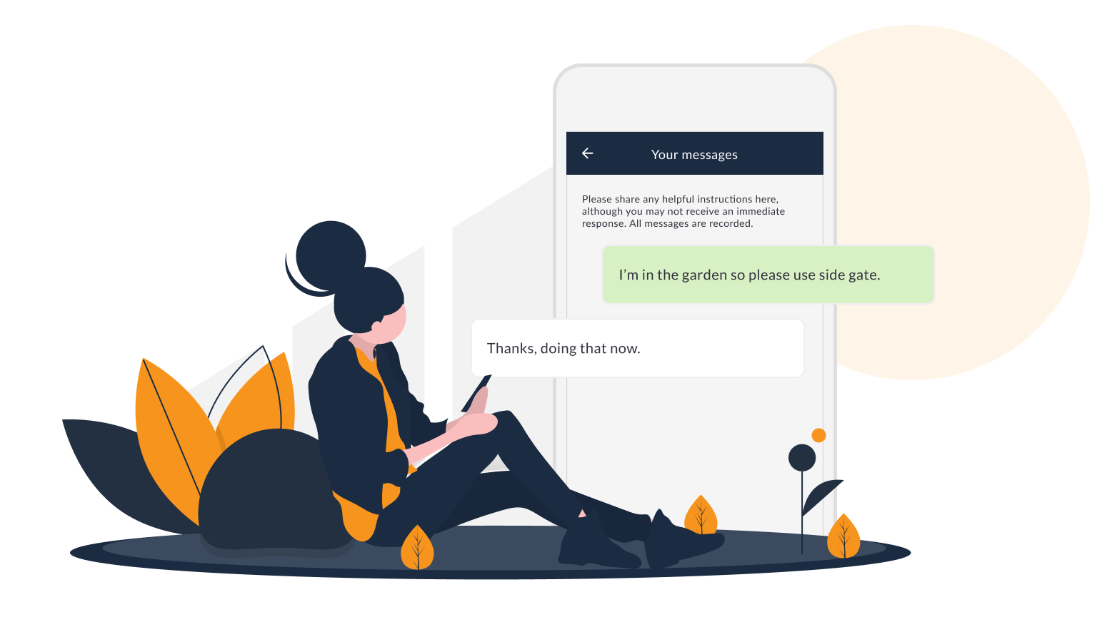 Chat My Way last mile two-way communications customer portal for field service and deliveries
